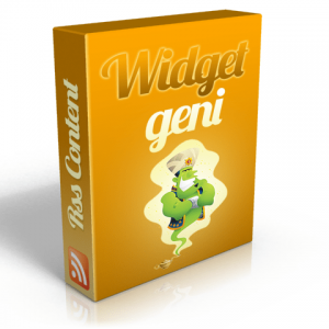 RSS Widget Generator