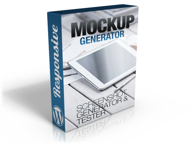 Wordpress Mockup Screenshot Generator