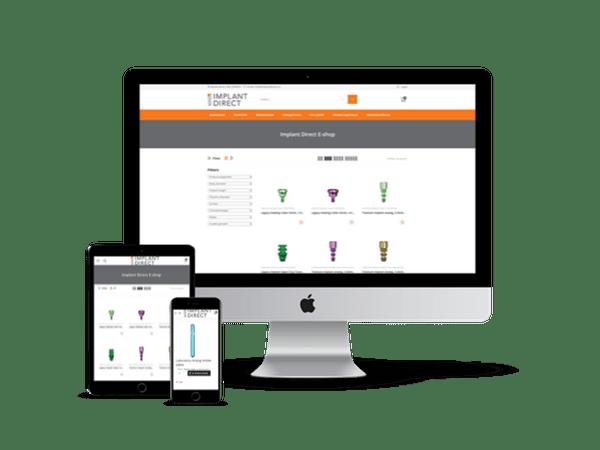 Implant Direct Webshop