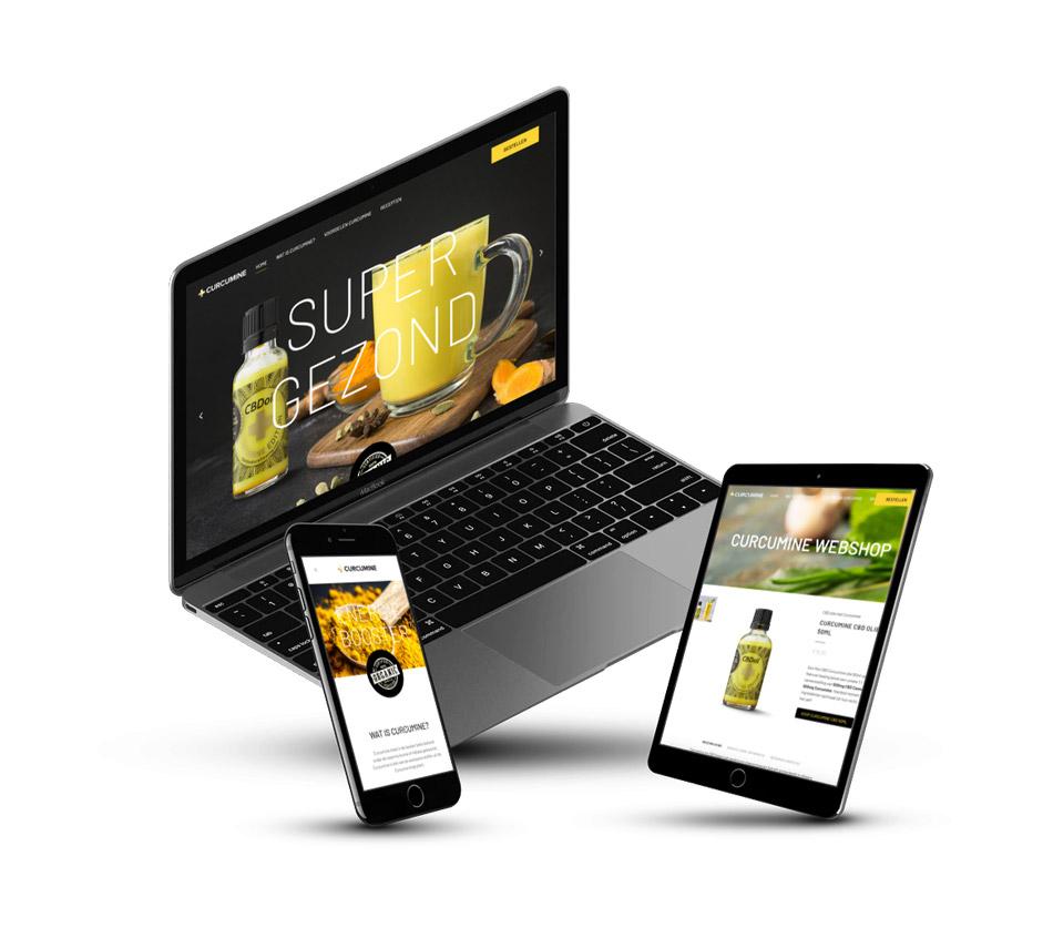 curcumine-design-mockup-website
