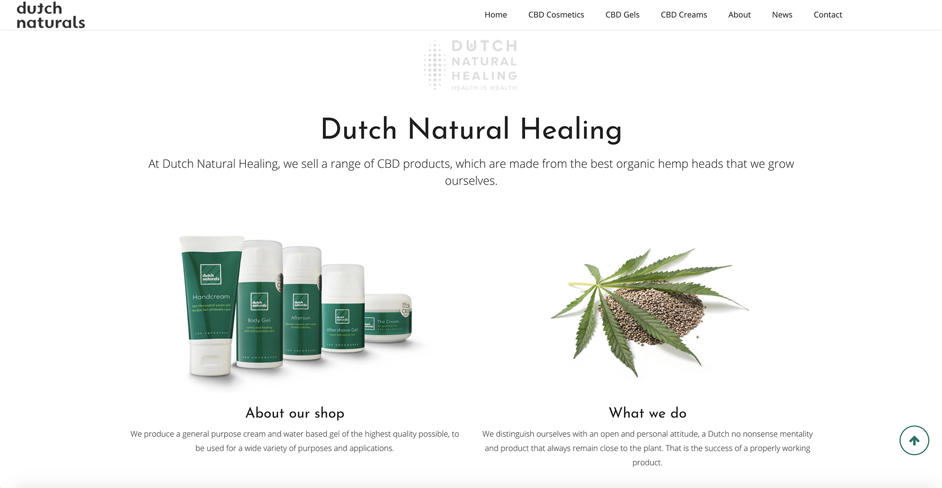 Dutch Naturals screenshot