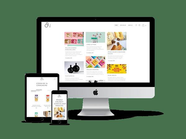 Blue-Organic webshop