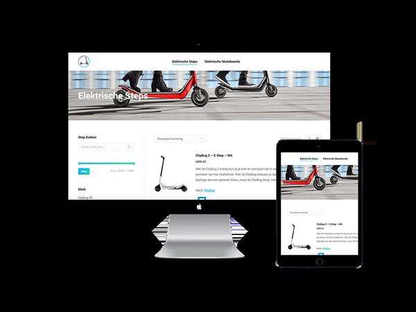 Elektrische steps webshop